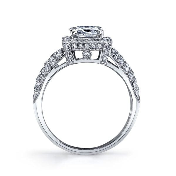 25632 Diamond Engagement Ring 0.77 Ctw.