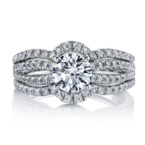 25633 Diamond Engagement Ring 0.81 Ctw.