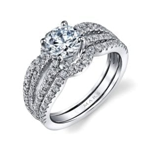 25633 Diamond Engagement Ring 0.81 Ctw.