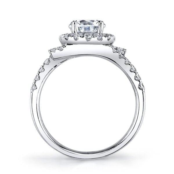 25648 Diamond Engagement Ring 0.53 Ctw.