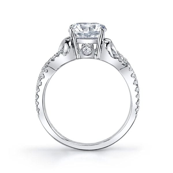 25720 Diamond Engagement Ring 0.32 Ctw.
