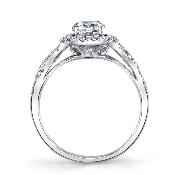 25740 Diamond Engagement Ring 0.22 Ctw.