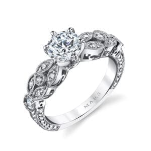 25779 Diamond Engagament Ring 0.21 Ctw.