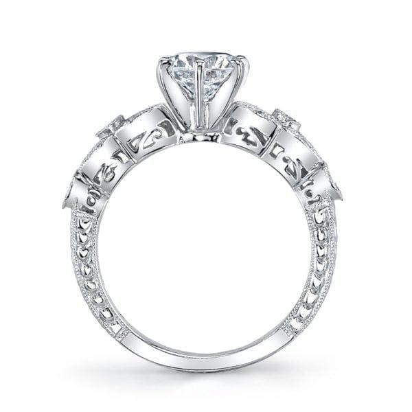 25779 Diamond Engagament Ring 0.21 Ctw.