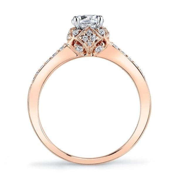25802 Diamond Engagement Ring, 0.27 Ctw.