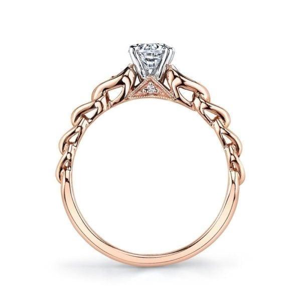 25803 Diamond Engagement Ring 0.09 Ctw.