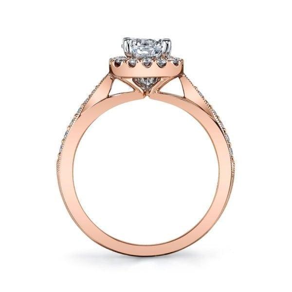 25804 Diamond Engagement Ring 0.31 Ctw.