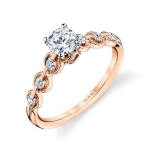 25807 Diamond Engagement Ring 0.25 Ctw.