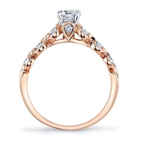 25807 Diamond Engagement Ring 0.25 Ctw.