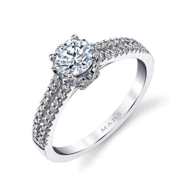 25813 Diamond Engagement Ring 0.25 Ctw.