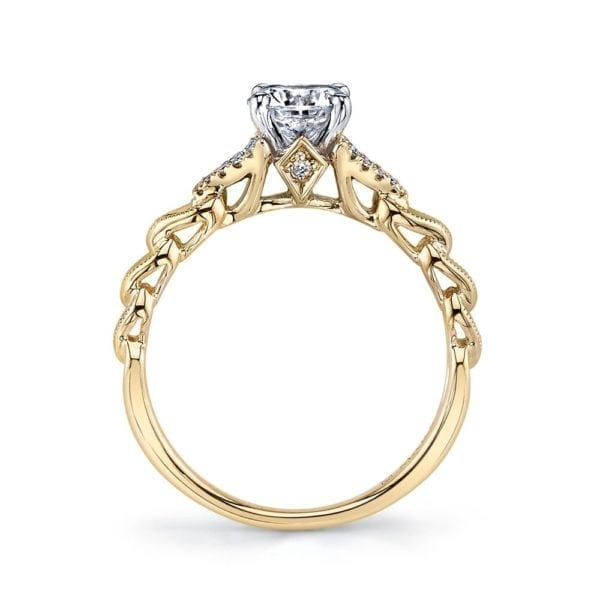 25816YG Diamond Engagement Ring 0.10 Ctw.