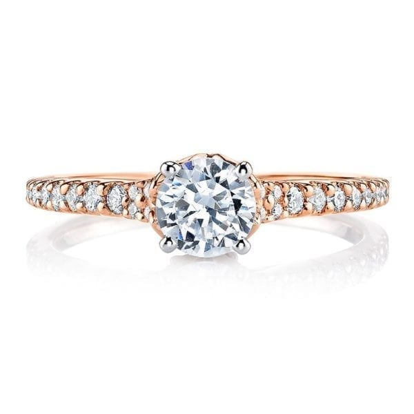 25817 Diamond Engagement Ring 0.29 Ctw.