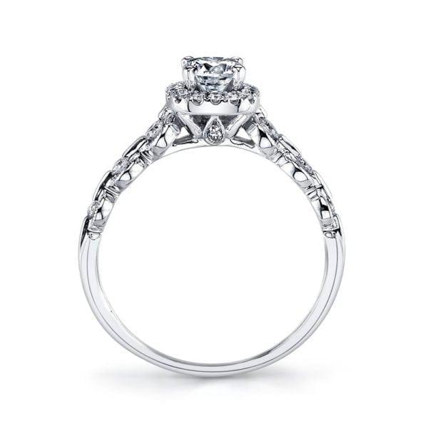 25829 Diamond Engagement Ring 0.25 Ctw.