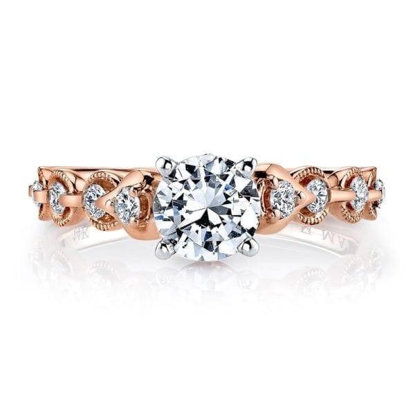 25831 Diamond Engagement Ring 0.25 Ctw.