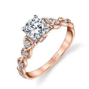 25831 Diamond Engagement Ring 0.25 Ctw.