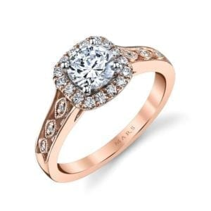 25833 Diamond Engagement Ring 0.24 Ctw.