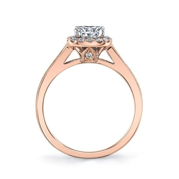 25833 Diamond Engagement Ring 0.24 Ctw.