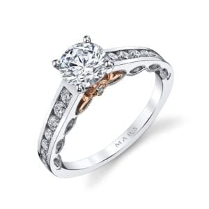 25836TT Diamond Engagement Ring 0.50 Ctw.