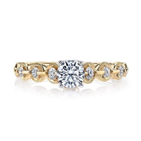 25845 Diamond Engagement Ring 0.25 Ctw.