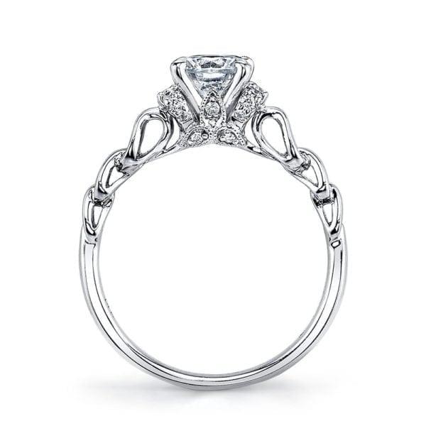 25847 Diamond Engagement Ring 0.12 Ctw.