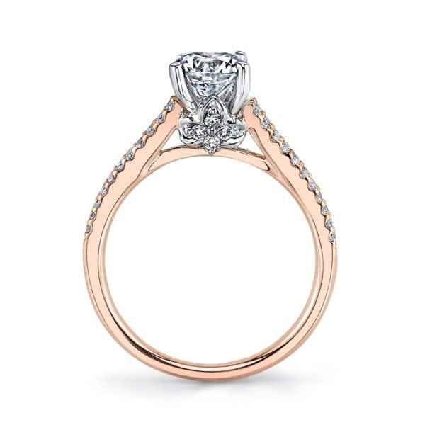 25851 Diamond Engagement Ring 0.33 Ctw.