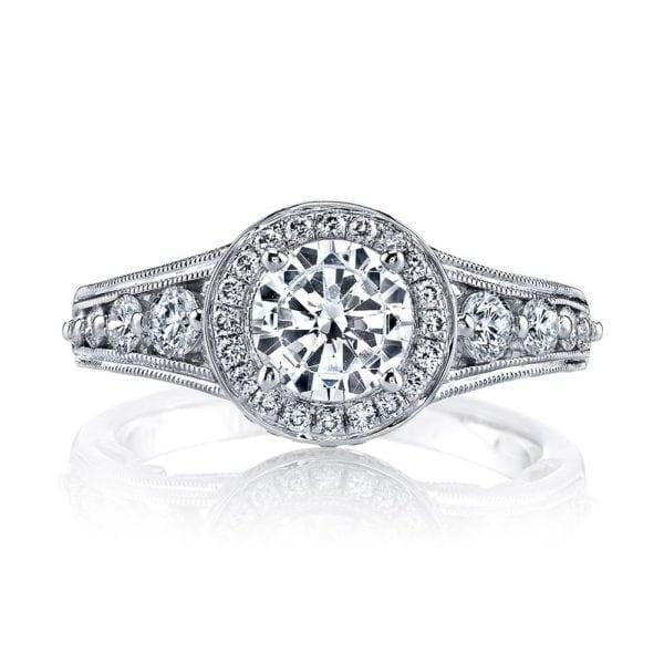 25856 Diamond Engagement Ring 0.73 Ctw.