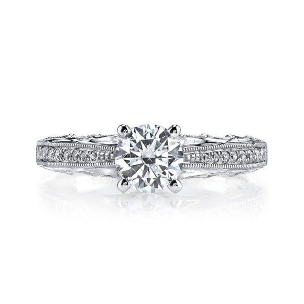 25866 Diamond Engagement Ring 0.14 Ctw.