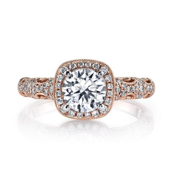25870 Diamond Engagement Ring 0.33 Ctw.