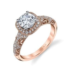 25870 Diamond Engagement Ring 0.33 Ctw.