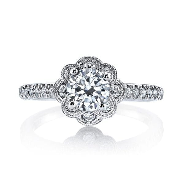 25871 Diamond Engagement Ring 0.31 Ctw.