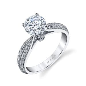 25917 Diamond Engagement Ring 0.33 Ctw.
