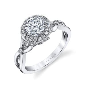 25950 Diamond Engagement Ring, 0.26 Ctw.