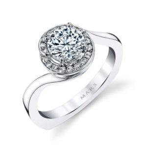 25958 Diamond Engagement Ring, 0.15 Ctw.