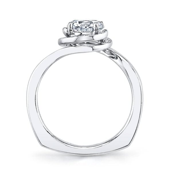 25958 Diamond Engagement Ring, 0.15 Ctw.