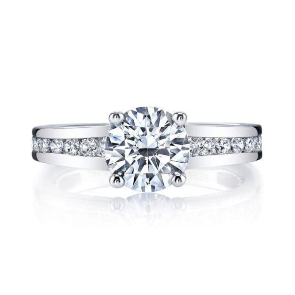 25971 Diamond Engagement Ring 0.60 Ctw.