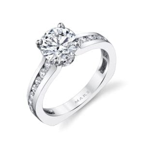 25971 Diamond Engagement Ring 0.60 Ctw.