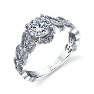 25987 Diamond Engagement Ring 0.28 Ctw.