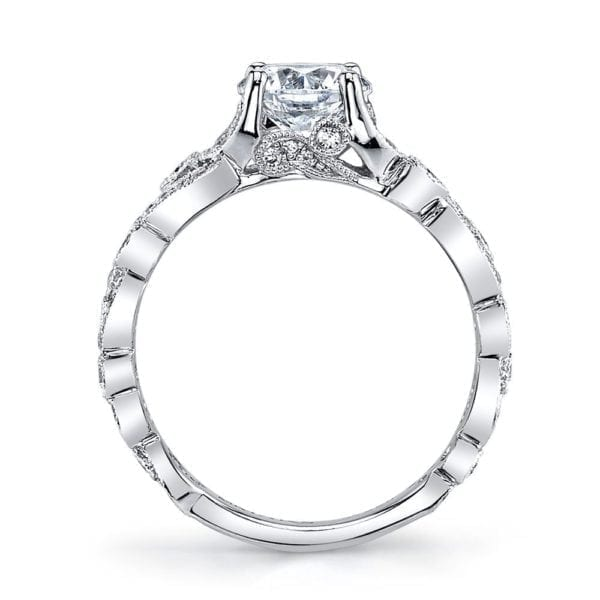 25988 Diamond Engagement Ring 0.40 Ctw.