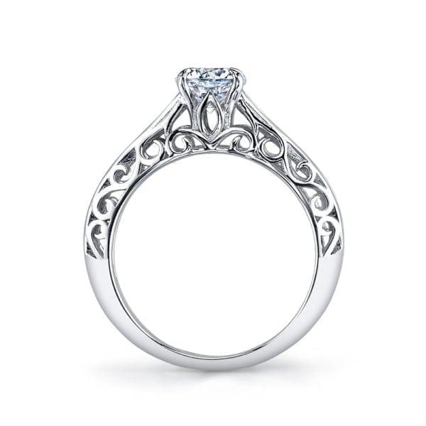 25989 Diamond Engagement Ring 0.18 Ctw.