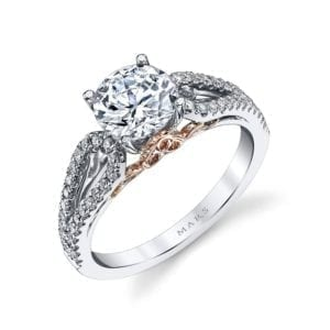 25993 Diamond Engagement Ring, 0.34 Ctw.