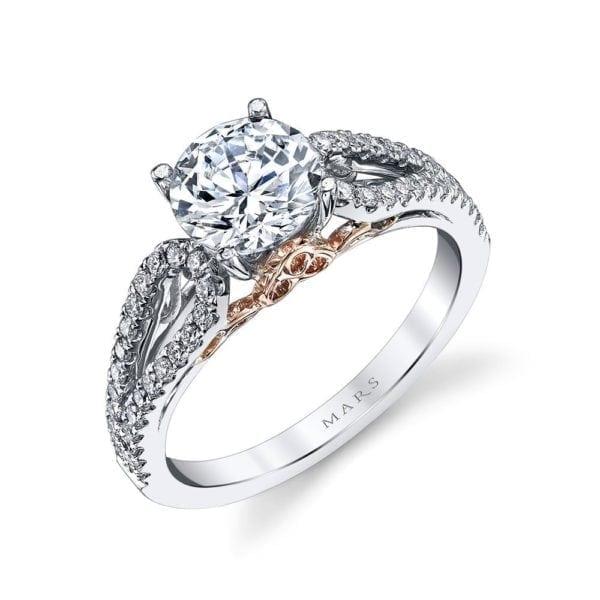 25993 Diamond Engagement Ring, 0.34 Ctw.