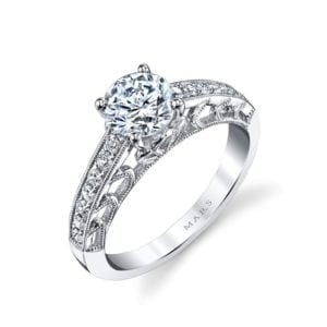 26001 Diamond Engagament Ring 0.25 Ctw.