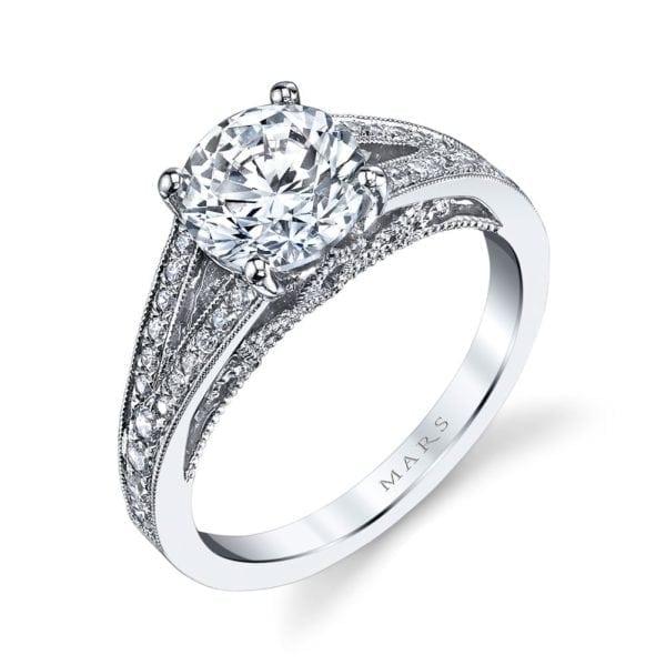 26004 Diamond Engagement Ring 0.25 Ctw.