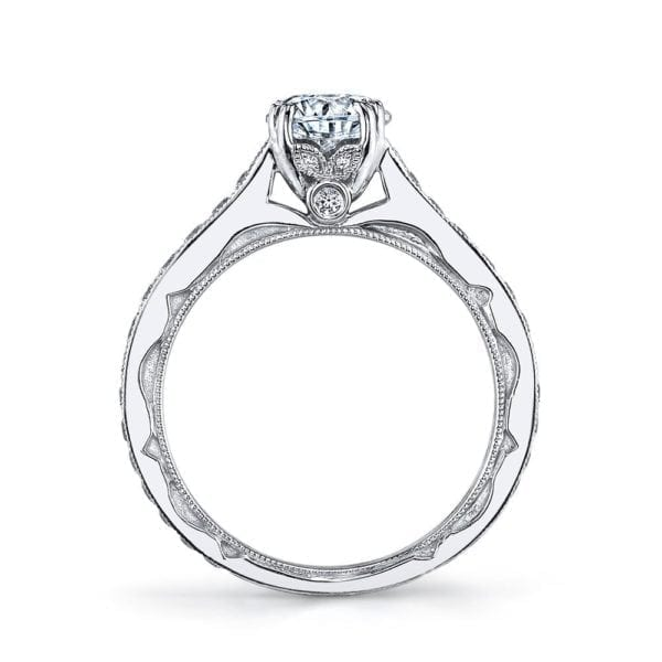 26009 Diamond Engagement Ring 0.51 Ctw.