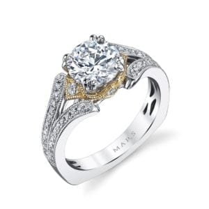 26040TT Diamond Engagement Ring 0.33 Ctw.