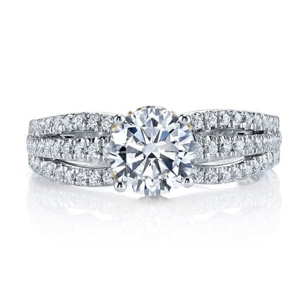 26041TT Diamond Engagement Ring 0.53 Ctw.