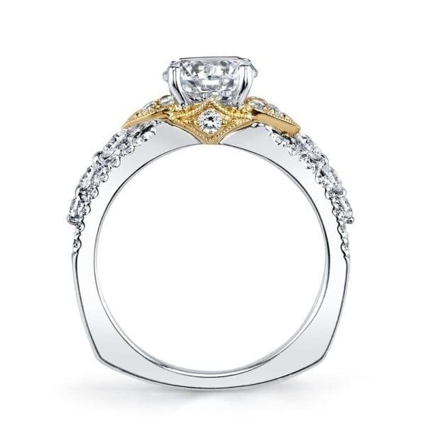 26042TT Diamond Engagement Ring 0.72 Ctw.