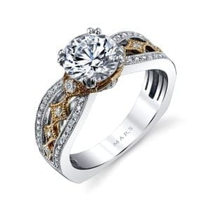 26043TT Diamond Engagement Ring 0.35 Ctw.
