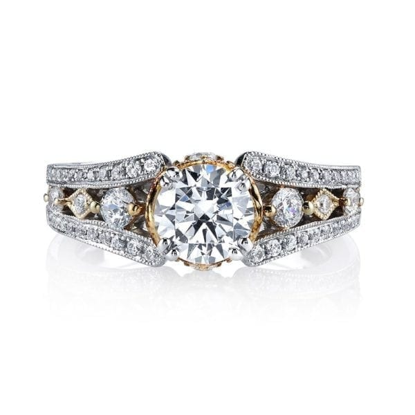 26048TT Diamond Engagement Ring 0.46 Ctw.