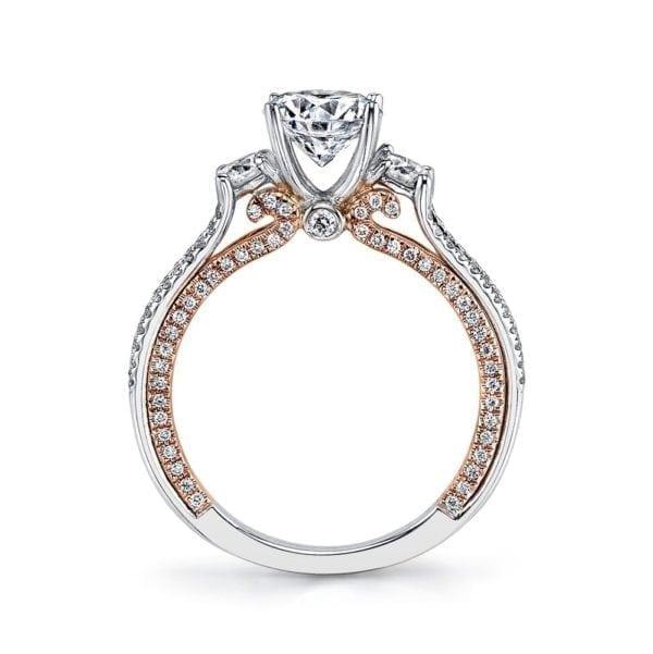 26085TT Diamond Engagement Ring, 0.66 Ctw.